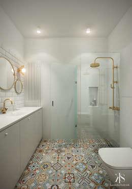 Ванные комнаты в . Автор – Kamińska Stańczak