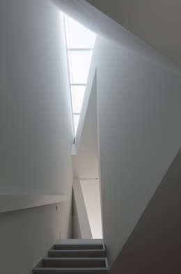 井戸健治建築研究所 / Ido, Kenji Architectural Studio의  복도 & 현관
