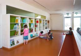 modern Nursery/kid's room by Abendroth Architekten