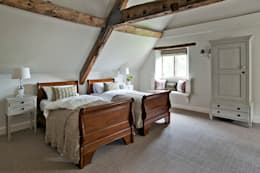 ​Ansty Manor, Bedroom: country Bedroom by BLA Architects