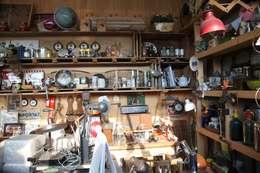 주디자인의 빈티지인테리어소품들: 주디자인의  서재 & 사무실