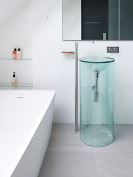 Sheen Lane, Bathroom: modern Bathroom by BLA Architects