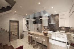 廚房 by NATURAL LIGHT DESIGN STUDIO