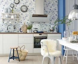 Cocinas de estilo escandinavo por diewohnblogger