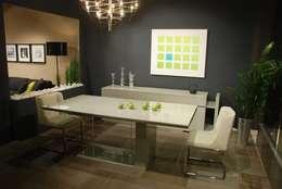 Gulsah Soyluer Designer/Sculptor – Sui : minimal tarz tarz Yemek Odası