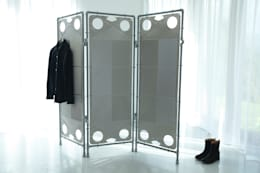industrial Dressing room by NaNowo Industrial Design