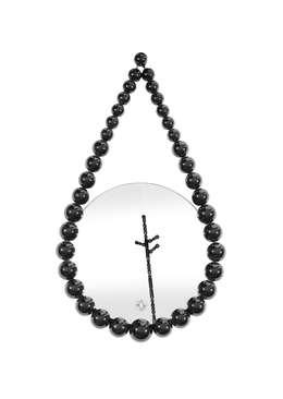 Bead Mirror : moderne Woonkamer door Vroonland
