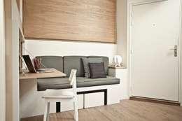 scandinavian Living room by Géraldine Laferté