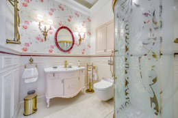 classic Bathroom by Be In Art