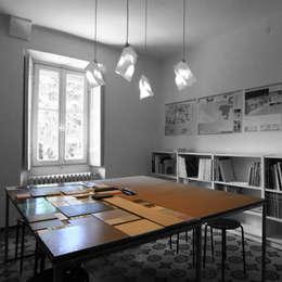 minimalistic Study/office by a2 studio di architettura