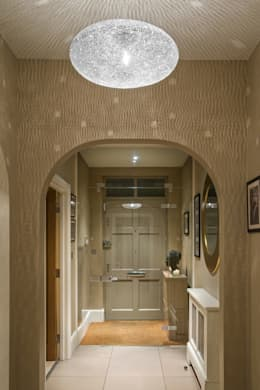 modern Corridor, hallway & stairs by ..