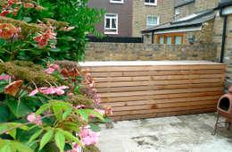 Garden storage: modern Garden by wayne maxwell