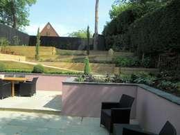 Сады в . Автор – Linsey Evans Garden Design