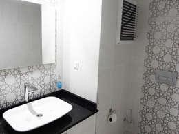 TEKNİK SANAT MİMARLIK LTD. ŞTİ. – T. ATILGAN EVİ: modern tarz Banyo