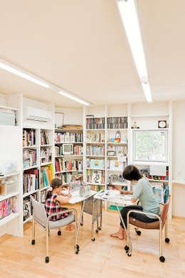 LEVEL Architects의  서재 & 사무실