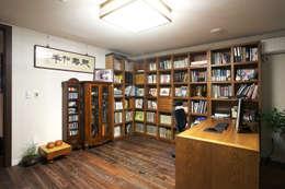 은평 힐스테이트: Hauan의  서재 & 사무실