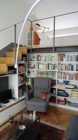 Salas de estilo industrial por Arch. Silvana Citterio