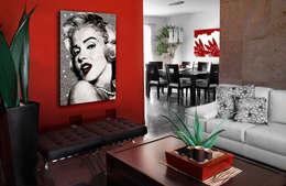 Tapisseries : Murs & Sols de style de style Moderne par GK ART