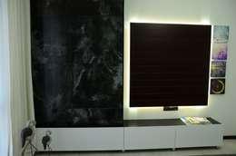 Arte FABBRO – Adin Knutları: modern tarz Oturma Odası