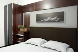 Arte FABBRO – Adin Knutları: modern tarz Yatak Odası