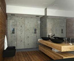 Дом-бетон: Спа в . Автор – Мастерская Grynevich Dmitriy