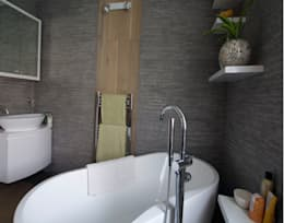 Bathroom: modern Bathroom by Kate Harris Interior Design