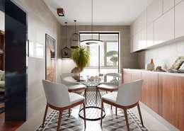 Кухня - столовая: Кухни в . Автор – FEDOROVICH Interior