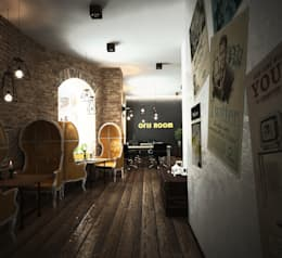 SMART КАФЕ В САНКТ-ПЕТЕРБУРГЕ: Офисы и магазины в . Автор – Мастерская Grynevich Dmitriy