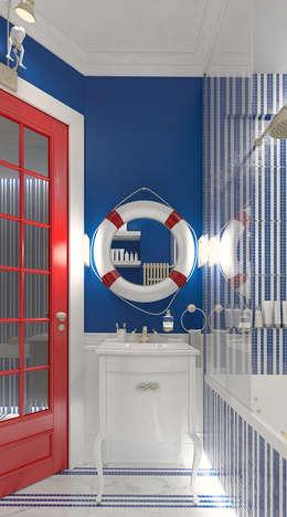 Salle de bains de style  par FEDOROVICH Interior