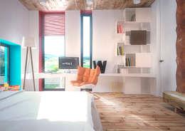 Minimal Apartment BR: Детские комнаты в . Автор – Мастерская Grynevich Dmitriy