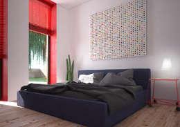 Minimal Apartment BR: Спальни в . Автор – Мастерская Grynevich Dmitriy