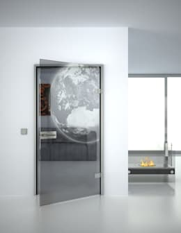Glass doors by Lionidas Design GmbH