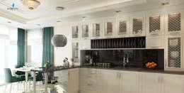 Çağrı Aytaş İç Mimarlık İnşaat – YILDIZ PLAZA PREMIUM: klasik tarz tarz Mutfak
