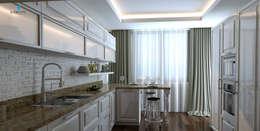 Çağrı Aytaş İç Mimarlık İnşaat – DE LIFE HOMES: klasik tarz tarz Mutfak