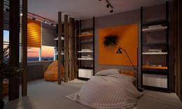 Квартира 200 кв.м. ЖК Европейский г. Краснодар: Детские комнаты в . Автор – Room Краснодар