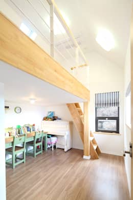 modern Nursery/kid's room by 주택설계전문 디자인그룹 홈스타일토토