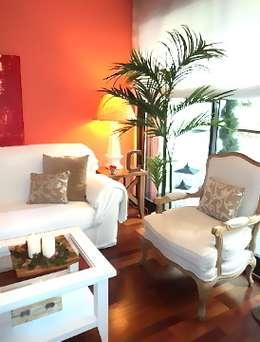 Salón Feng Shui: Salones de estilo escandinavo de Feng Shui Cristina Jové