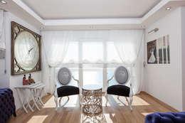 Mimoza Mimarlık – Phaselis Konutları Antalya: modern tarz Oturma Odası
