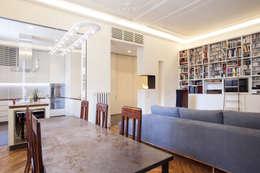 Salones de estilo moderno de bdastudio