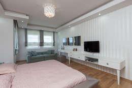Mimoza Mimarlık – Phaselis Konutları Antalya: modern tarz Yatak Odası