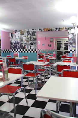 Nhà hàng by INTERTECH ESPACIO CREATIVO