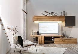 modern Living room by Voglauer Möbelwerk Gschwandtner & Zwilling GmbH & CoKG