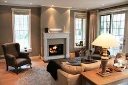 Amerikanische Häuser: Wohnzimmer Als Mittelpunkt