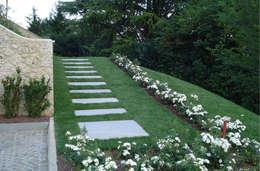 modern Garden by Studio di architettura_Claudio Dorigo architetto