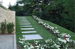 Jardin de style de style Moderne par Studio di architettura_Claudio Dorigo architetto
