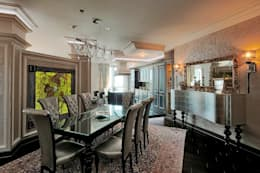 modern Dining room by Studio B&L