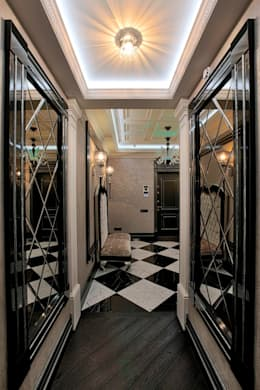 Corridor & hallway by Studio B&L