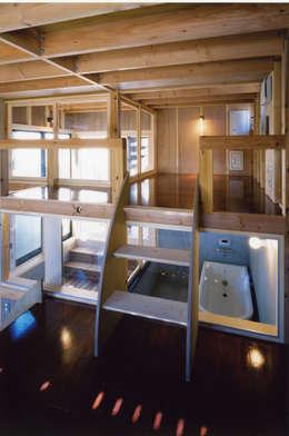 Projekty,  Łazienka zaprojektowane przez スタジオ4設計