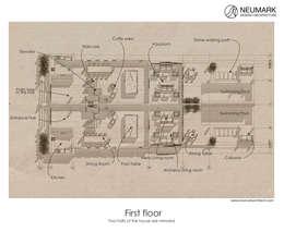 Дизайн-проект отеля Sabah Al-Ahmad Khiran Сhalet, Кувейт:  в . Автор – NEUMARK