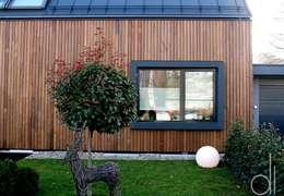 Projekty, nowoczesne Domy zaprojektowane przez di architekturbüro